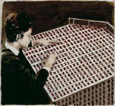 Contemporary Art Blog | Michaël Borremans artist from Antwerpen (Belgium)...