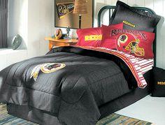 redskins bedroom ideas   NFL Washington Redskins - Denim Football Bedding Comforter - Queen