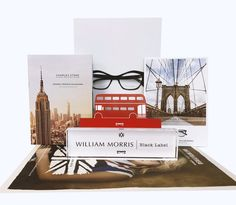 Fresh, new POS for SS18 for William Morris London. Always love working with this brand! #pos #print #printmanagement #glasses #ss18 #fresh #photography #positems #showcards #acrylicblock #logo #newspaper #catalogue #charlesstone #williammorris