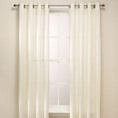 B. Smith Origami Grommet Window Curtain Panels - BedBathandBeyond.com