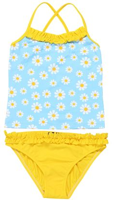Shop at stella cove daisies on light blue tankini for girls girls bathing s Blue Tankini, Bath Girls, Luxury Swimwear, Girls Bathing Suits, Cute Swimsuits, Tween Girls, Stylish Girl, Girls Shopping, Beachwear