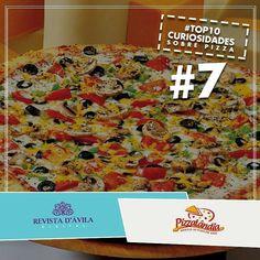 Hoje é dia de mais uma curiosidade do nosso ranking by Pizzalândia! Confira o nosso ranking que já está quase completo: