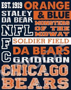 Chicago+Bears+Subway+Art+by+515DesignStudio+on+Etsy,+$20.00