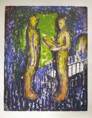 Nico Widerberg - kunstner - maleri - grafikk