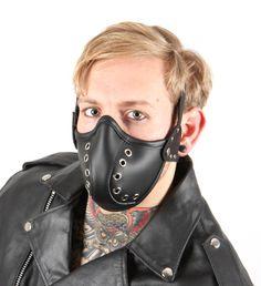 Máscara de cuero Steampunk por TheBlondeSwan en Etsy