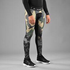 904295cfcf American Predator Compression Tights / Leggings Mens Tights, Tight Leggings,  Fabric, Pants,