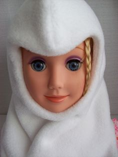 Toddler white balaclava - Canadian Handcrafted by Catherine Bellaire - $38.00 -  https://www.etsy.com/shop/sewingmemere