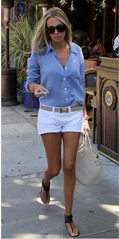 Petra Ecclestone Style - T-strap flats look #womenswear #streetstyle #celebrity #outfit #short #sandals #summer #petraecclestone