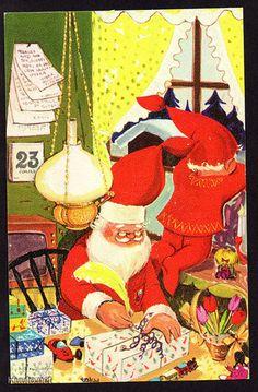 Tarmo Saario, TAKU Illustration Art, 3c, Christmas, Painting, Xmas, Painting Art, Navidad, Paintings, Noel