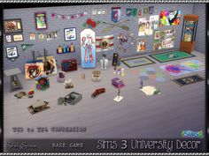 Sims 3 to 4 Dorm Collection