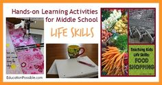 Hands-on Learning Activities for Middle School - Life Skills