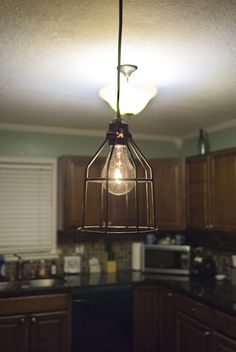 DIY pendant light tutorial