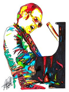 Elton John Singer Vocals Piano Player Rock Pop Rock by thesent