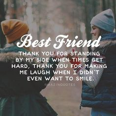 """True Friendship Quotes – Best Friends Forever Quotes """"True friends aren't the ones who make your problems disappear. Best Friends Tumblr, Best Friends Forever Quotes, Besties Quotes, Cute Quotes, Funny Quotes, Bestfriends, Birthday Quotes For Best Friend, True Best Friend Quotes, Smile Quotes"""