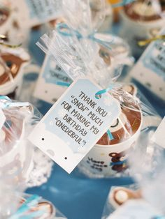 Favors From A Winter ONEderland Birthday Party Via Karas Ideas KarasPartyIdeas 5