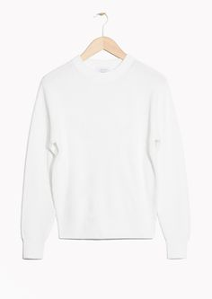& Other Stories image 1 of Organic Cotton Knit in White