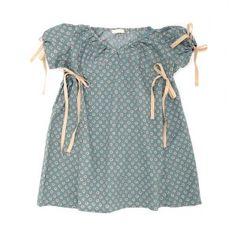 talc blue dress cute :)