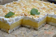 Creme, Cheesecake, Baking, Recipes, Food, Sheet Pan, Ice, Food Portions, Simple Cakes