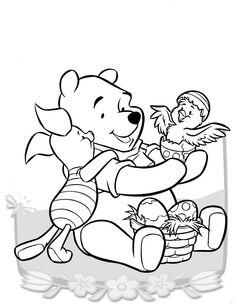 Dibujos para Colorear Winnie the Pooh 18