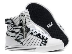 Find Supra Skytop Bright White Black Men's Shoes Authentic online or in Pumaslides. Shop Top Brands and the latest styles Supra Skytop Bright White Black Men's Shoes Authentic of at Pumaslides. Supra Shoes Men, Supra Sneakers, High Top Sneakers, Supra Footwear, Boys Shoes, Me Too Shoes, Men's Shoes, Shoes Style, Skate Shoes
