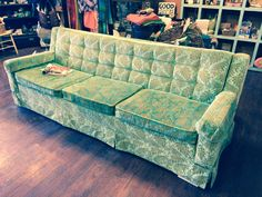 Buried child set design Vintage 1960s Couch $295 @ Cloz to Home