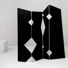 Bruno Munari – Paravento modello Spiffero, 1989