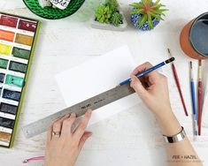 Easy Watercolor Cityscape Step-by-Step Tutorial - Fox + Hazel for Dawn Nicole Designs-2