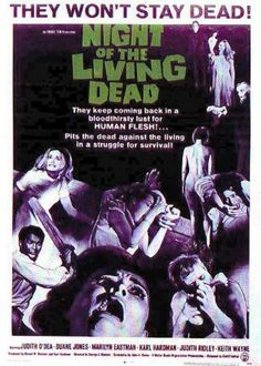 Night of the living dead.  An early horror film that is incredibly well done.