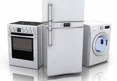 Branquear os electrodomésticos brancos