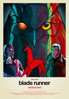Blade Runner • 1982 by Van Orton Design   Moviepilot