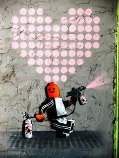 Ame72 in Tel Aviv - Tons of stellar street art in this city - keep your eyes peeled!