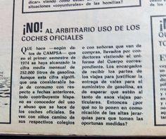 #CochesOficiales En: #LaCodorniz, #1976