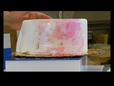 How To Make WAFER PAPER TECHNIQUE FOR CAKE! - YouTube