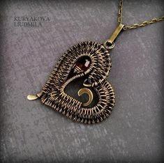Heart pendant by Kuryakova Liudmila