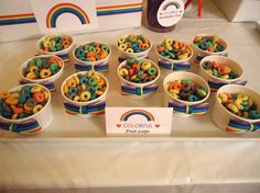Rainbow Birthday Party Ideas | Photo 1 of 29 | Catch My Party