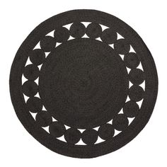 Round Black Woven Reversible Indoor Outdoor Patio Rug – Round by World Market - Outdoor Rugs Round Outdoor Rug, Indoor Outdoor Rugs, Outdoor Area Rugs, Outdoor Dining, Outdoor Deck Decorating, Circular Rugs, Circle Rug, Affordable Rugs, Rug World