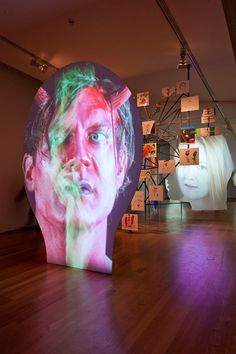 Art-Phantasmagoria - Tony OURSLER - Mons 2014