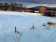 Peter Fiore, Artist's Blog about landscape painting.