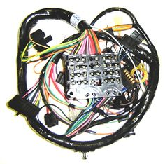 1964-72 Chevelle dash Wiring Harness - www.eastcoastchevelle.com  We use M Electrical for our harness, no one produces a better reproduction harness then M Electrical.