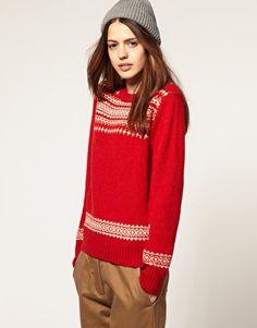 YMC Red Sweater. Like it.