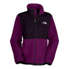 Womens The North Face Denali Fleece Jacket Premiere Purple