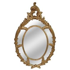 Brown Wall Mirror
