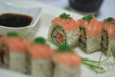 """Maki """"Atlantic"""" Sushi, Ethnic Recipes, Food, Essen, Meals, Yemek, Eten, Sushi Rolls"""