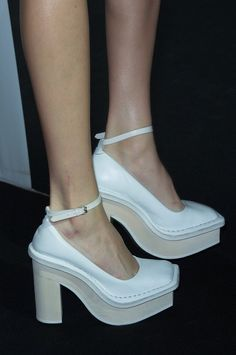 Did you see the shoes from yesterday's @Acne Studios show?!...