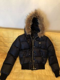 South Pole Puffer Hooded Winter Jacket Women Size small  fashion  clothing   shoes   ff954fa62