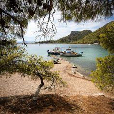 Loutraki beach, Loutraki, Corinth, Greece
