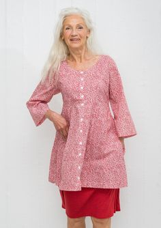 """""""Mini"""" tunic in cotton – New arrivals – GUDRUN SJÖDÉN – Webshop, mail order and boutiques 