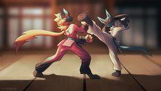 Mega Lucario, Lucario Pokemon, Charizard, Image Painting, Painting & Drawing, Pokemon Universe, Lugia, Legend Of Zelda, Karate