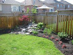 Delightful Back Yard Corner Landscaping Shapes | Back Yard Corner Landscape Ideas Part 15