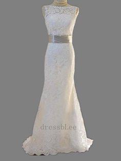 Lace Wedding Dress, handmade